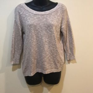 Express backless sweater. NWOT!